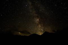 Milky Way over Weinflaschenkopf and Murauer (Nigel Jones QGPP) Tags: milkyway austria gastein