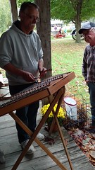 VID_20171007_121243173 (clay53012) Tags: fall village kids pumpkins crafts ropemaking antiques trainstation harvest face pinting music tractor printingpress outhouse wagonrides generalstore hitnmiss blacksmith spinningwheel barn silo washtub hammerdulcimer zither