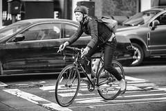 Easy Rider (Thomas Hawk) Tags: america california glass glassphotowalk google googleglass photowalk sanfrancisco treyhawkwalk us usa unitedstatesofamerica bicycle bike bw