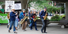 march-band-leads (swineland) Tags: toronto 350 350toronto activism climate climateaction climatechange climatemarch environment march protest rally riseforclimate