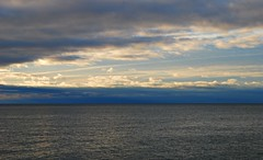 Sunshine (Pwern2) Tags: water landscape nature clouds navyblue bluehour sunrise toronto the6 lakeontario highlandcreek rougeriver bluffs scarboroughbluffs freshwater lake canada canadian scarborough