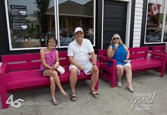 18GD3233-Edit (wdwornik) Tags: 45pictures albertacanada bellevue crowsnestpass icecream tourism benches gwd historic pinks alberta canada ca