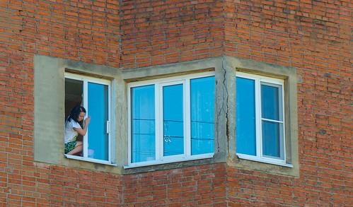 Washing window ©  Andrey