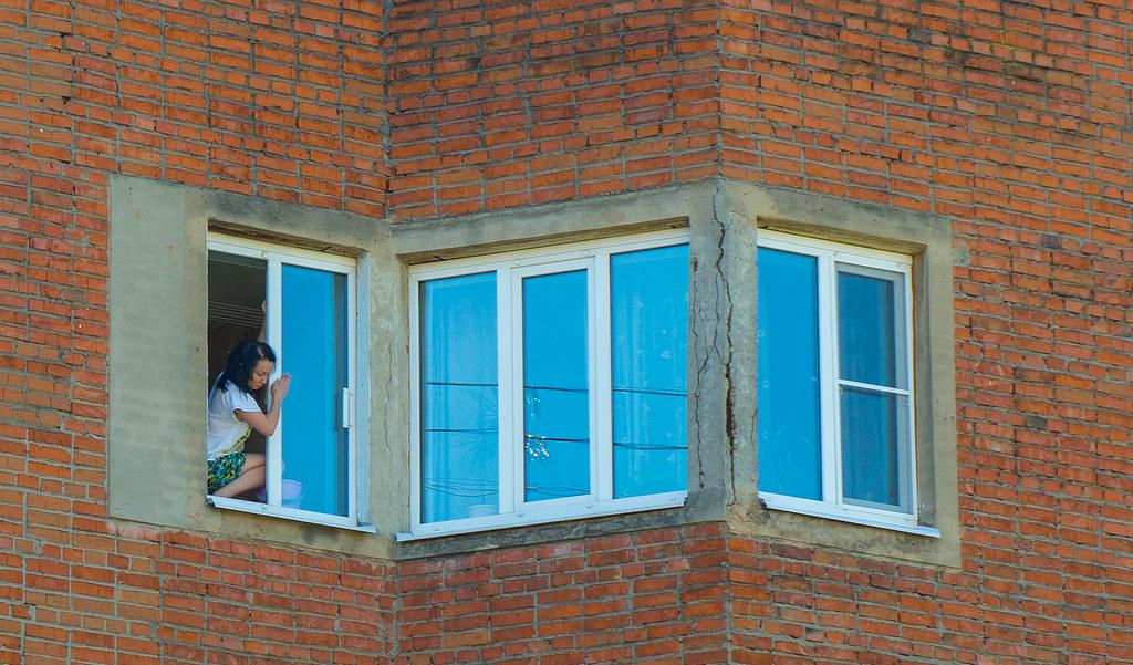фото: Washing window