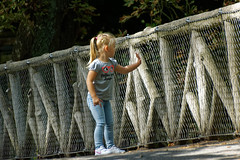 La curiosité 4/5 - The curiosity 4/5 (p.franche malade - sick) Tags: petitfille blonde pont béton acier grillage curiosité jeunesse instantané parc streetshot portrait tendresse doigts main littlegirl bridge concrete steel fence curiosity youth instant park tenderness fingers hand sony sonyalpha65 dxo photolab bruxelles brussel brussels belgium belgique belgïe europe pfranche pascalfranche schaerbeek schaarbeek parcjosaphat josaphatpark woman frau 女子 여성 kvinde mujer nainen γυναίκα אישה امرأة nő wanita bean kona donna 女 kvinne kobieta mulherженщина kvinna žena หญิง đànbà vrouw