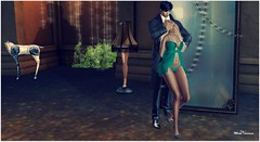 dc185 7ds haven babydoll ps post (Moni Carissa) Tags: 7deadlyskins berlin cashew tone la perla baby doll panty heels designer circle event 185 haven poses pose 35 couple vinculo secreto yuko truth hair blonde group gift