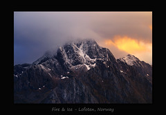Fire & Ice (MC-80) Tags: lofoten norway fire ice
