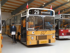 Museum bus 1982 Volvo B10M HT 1596 in as new livery ex ARRIVA (sms88aec) Tags: museum bus 1982 volvo b10m ht 1596 new livery ex arriva
