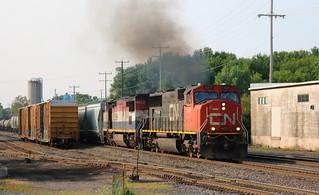 CN 5611, BCOL 4625, Chapman, Neenah, 12 Aug 18
