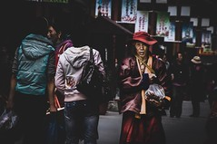 Songzhou Ancient City II (sKame-rameha) Tags: street people tibet town castletown china