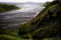 untitled (Maj. Major Major Major) Tags: green grass moss nature blacksand beach iceland ocean volcanic river floodplain leica leicam travelling voigtlander nokton11