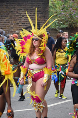 DSC_6880 Notting Hill Caribbean Carnival London Exotic Colourful Red and Yellow Costume Girls Dancing Showgirl Performers Aug 27 2018 Stunning Ladies Big Beautiful Woman BBW (photographer695) Tags: notting hill caribbean carnival london exotic colourful costume girls dancing showgirl performers aug 27 2018 stunning ladies red yellow big beautiful woman bbw