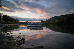 On the beautiful Rhine river (ivoräber) Tags: rhein rhine switzerland swiss boat boot sony loxia