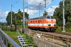 Nederbelg (Peter ( phonepics only) Eijkman) Tags: amsterdam spoorwegen spoor dieseltreinen diesel locomotives locomotieven lokken cargo rail rails railways railway treinen trein tren trains train nederland netherlands nederlandse noordholland holland