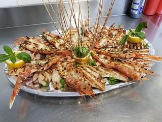 Gran grigliata di pesce