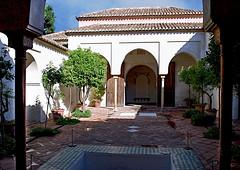 Malaga (Andalousie) (Iwokrama) Tags: espagne andalousie malaga alcazaba périodemauresque palais architecture