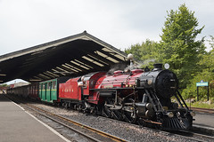 Romney, Hythe & Dymchurch Railway No. 9  - New Romney (Neil Pulling) Tags: romneyhythedymchurchrailway rhdr kent newromney narrowgauge train steamrailway steamengine locomotive