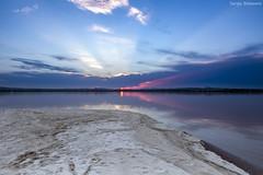 Salty sunset (serx92) Tags: salinas torrevieja parquenatural comunidadvalenciana comunitatvalenciana alicante españa spain saltflats cielo agua sal sunset paisaje landscape puestadesol