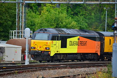 """67023 worcester 060918 (50008""""thunderer"""") Tags: class 67 67023"""