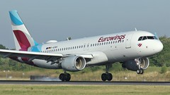 D-AEWV (AnDyMHoLdEn) Tags: eurowings a320 lufthansagroup staralliance egcc airport manchester manchesterairport 05r