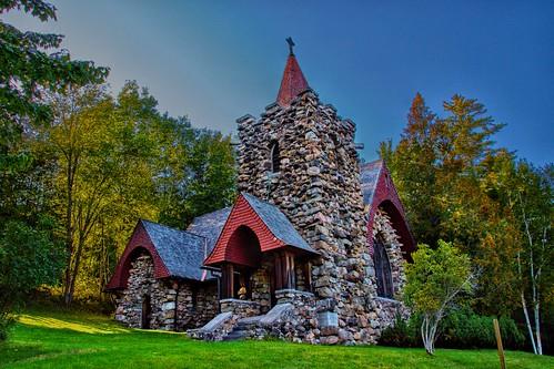 Saranac Lake New York - Adirondack Cottage Sanitarium  - Chapel