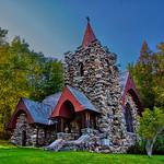 Saranac Lake New York - Adirondack Cottage Sanitarium  - Chapel thumbnail