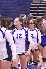 Varsity Girls Last group (391) (SJH Foto) Tags: girls high school volleyball etown elizabethtown palmyra teens varsity postgame hand slap