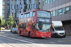 AL T20 @ West Croydon bus station (ianjpoole) Tags: arriva london alexander dennis enviro 400 lj08cvr t20 working route 250 park street croydon brixton station