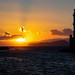 Chania Harbour and Lighthouse Sunset