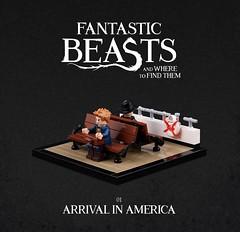Fantastic Beasts 1 (Xenomurphy) Tags: lego moc bricks afol fantasticbeasts harrypotter vignettes series