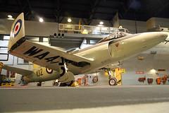 WA473 Vickers Supermarine Attacker F1 Royal Navy Yeovilton Fleet Air Arm Museum 29th April 2018 (michael_hibbins) Tags: wa473 vickers supermarine attacker f1 royal navy yeovilton fleet air arm museum 29th april 2018