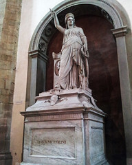 Monument of Playwright Giovann Niccolini (U A Satish) Tags: playwright basilicadisantacroce florence italy uasatish monument giovannniccolini tomb