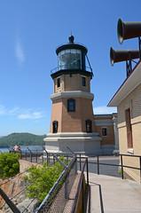 Split Rock Lighthouse - Minnesota (Jeffrey Neihart) Tags: jeffreyneihart nikond5100 nikon1855mm lighthouse light fresnel brick lakesuperior lake minnesota lens foghorns