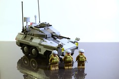 VRB 1 with crew (TierMR) Tags: war guns army military armored recon vehicle infantry support