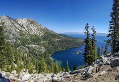Overlooking Emerald Bay (jenesizzle) Tags: emeraldbay desolationwilderness tahoe laketahoe bay lake hiking outdoors landscape