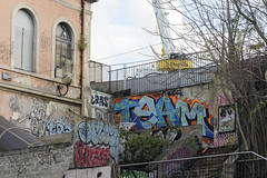 Team (Ruepestre) Tags: team art paris parisgraffiti graffiti graffitis graffitifrance graffitiparis graff france francegraffiti streetart street urbanexploration urbain urban wall walls ville villes city