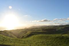 Manukau Lighthouse (James0Harris) Tags: manukauheads manukau heads lighthouse hills rollinghills green newzealand farm