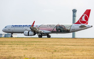 Airbus A321 Turkish Airlines TC-JTP