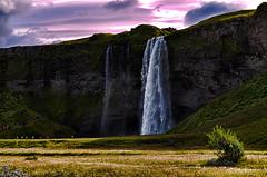 islande 007 Seljalandsfoss (cécile pics) (sebastien.demotier) Tags: waterfall island islande iceland green cloud velvet