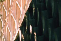 Fujica ST American Cement Building 5 (▓▓▒▒░░) Tags: fuji fujica slr japan chrome xpro sensia cross process la los angeles california west coast history travel landscape light shadow analog mechanical style design classic retro vintage 35mm film camera fashion architecture building concrete infrastructure