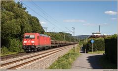 DB Cargo 185 255-7 @ Bonn-Limperich (Wouter De Haeck) Tags: deutschland dbnetz kbs465 koblenz köln rheinstrecken rechterheinstrecke nordrheinwestfalen bonn beuel limperich bonnlimperich mittelrhein dbag deutschebahn deutschebahnag dbc dbcargo br185 bombardier traxx f140ac2 cargo güterzug freighttrain ehrang ehrangmitte duisburg wedau duisburgwedau duisburgwedausüdberg