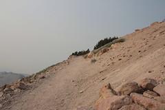Trail, crossing a barren slope (rozoneill) Tags: lassen volcanic national park peak hiking california volcano