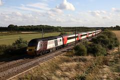 its the wrong colour ! (Dan-Piercy) Tags: hst class43s crosscountry 43285 lner 43310 boltonpercy bridge33 1s22 london kingscross edinburgh eastcoast service ecml