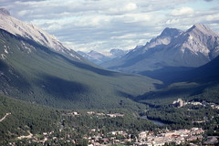 Banff, looking south (Plane Buddy) Tags: banff alberta canada springs hotel bowriver landscape