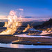 Digital Oil Painting of the Midway Geyser Basin by Charles W. Bailey, Jr.
