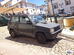 Fiat Panda 4x4 Sisley - Castelo De Vide (Freggs) Tags: limited edition steyrpuch steyr puch 45 1000 front 1991 portugal fiat panda 4x4 sisley castelo de vide