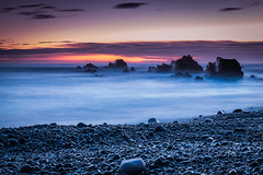 Asturias (just_lightshots) Tags: sunset horizon coast sunrise beach seascape landscapes idyllic dramaticsky sea wave summer dawn rocks quiet ocean blue beautiful outdoors light sky travel