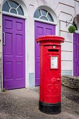 Exeter - Devon - UK (ygourvennec) Tags: devon unitedkingdom postbox cathedral exeter highstreet quays pub phonebox royalmail uk churchyard