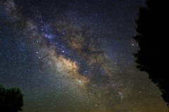 Backyard Galaxy (RS2Photography) Tags: rs2pics inyocounty inyo skypeople galaxy old new naturephotography eos home darkskies 80d blue natur sky flickr may2018 2018 california mw light dark stone rossstone ross nighttime trees longexposure night stars milkyway canon dslr outside nature beautiful pretty beauty landscape unofficial
