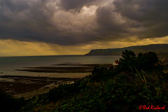 Robin Hoods Bay (red.richard) Tags: robin hoods bay yorkshire coast sea cliffs sky